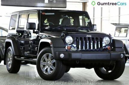 2014 Jeep Wrangler JK MY2015 Unlimited Sport Blue 5 Speed Automatic Softtop