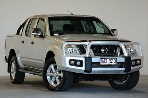 2011 Nissan Navara D40 ST-X 550 (4x4) Silver 7 Speed Automatic Dual Cab Utility Coopers Plains Brisbane South West Preview