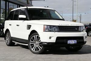 2010 Land Rover Range Rover Sport L320 10MY V8 Luxury White 6 Speed Sports Automatic Wagon Osborne Park Stirling Area Preview