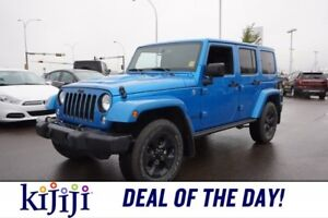 2015 Jeep Wrangler Unlimited 4X4 SPECIAL EDITION Accident Free,