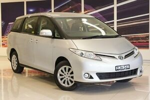 2013 Toyota Tarago ACR50R MY13 GLi Silver 7 Speed Constant Variable Wagon Blacktown Blacktown Area Preview