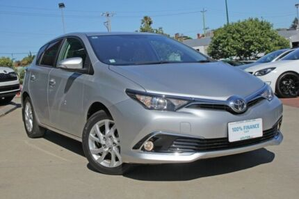 2017 Toyota Corolla ZRE182R MY15 Ascent Sport Silver 7 Speed CVT Auto Sequential Hatchback Victoria Park Victoria Park Area Preview