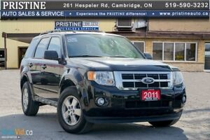 2011 Ford Escape XLT 4WD Only 62km 1 Owner Rust Free