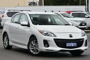2013 Mazda 3 BL1072 MY13 SP20 SKYACTIV-Drive SKYACTIV Crystal White Pearl 6 Speed Sports Automatic Bayswater Bayswater Area Preview