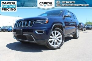 2017 Jeep Grand Cherokee Limited W/ HEATED/COOLED LEATHER / REVE