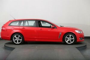 2015 Holden Commodore VF MY15 SV6 Red 6 Speed Automatic Sportswagon