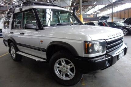 2003 Land Rover Discovery 03MY S Td5 Silver 4 Speed Automatic Wagon Port Melbourne Port Phillip Preview