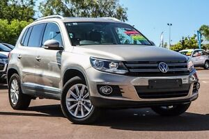 2016 Volkswagen Tiguan 5N MY16 132TSI DSG 4MOTION Gold 7 Speed Sports Automatic Dual Clutch Wagon Wilson Canning Area Preview