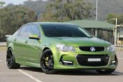 2015 Holden Commodore VF MY15 SS V Jungle Green 6 Speed Manual Sedan West Gosford Gosford Area Preview