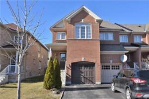 Richmond Hill End Unit Townhouse