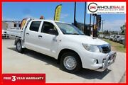 2012 Toyota Hilux KUN16R MY12 SR Utility Double Cab 4dr Man 5sp, 4x2 1000kg 3. French Vanilla Manual Minchinbury Blacktown Area Preview