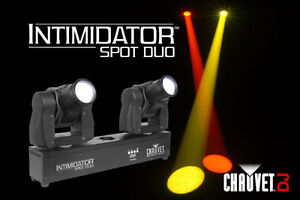 CHAUVET INTIMIDATOR SPOT DUO* 2 x Moving Head IN 1 *