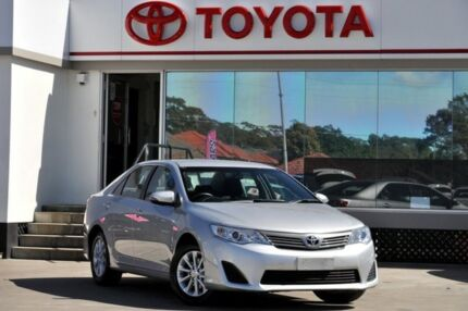2013 Toyota Camry ASV50R Altise Silver Pearl 6 Speed Automatic Sedan Old Guildford Fairfield Area Preview