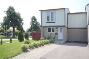 End Unit Freehold 3 Bedroom Bright Home