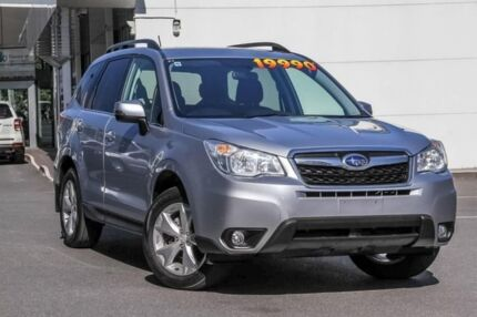 2013 Subaru Forester S4 MY14 2.5i-L Lineartronic AWD Silver 6 Speed Constant Variable Wagon Mount Gravatt Brisbane South East Preview