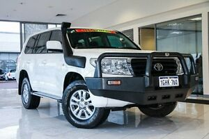 2008 Toyota Landcruiser VDJ200R GXL White 6 Speed Sports Automatic Wagon Wangara Wanneroo Area Preview