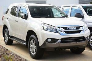 2016 Isuzu MU-X MY15.5 LS-T Rev-Tronic Silky White 5 Speed Sports Automatic Wagon Mandurah Mandurah Area Preview