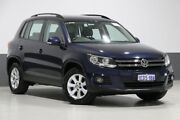 2013 Volkswagen Tiguan 5NC MY13 132 TSI Pacific Blue 6 Speed Automatic Wagon Bentley Canning Area Preview