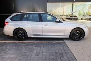 2017 BMW 330I F31 LCI M Sport Touring Silver 8 Speed Sports Automatic Wagon