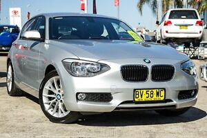 2011 BMW 118i F20 Silver 8 Speed Sports Automatic Hatchback Blacktown Blacktown Area Preview