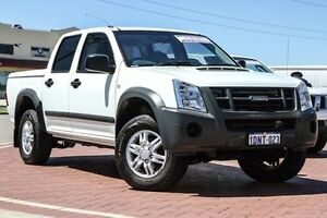 2010 Isuzu D-MAX MY10 SX High Ride White 4 Speed Automatic Utility Spearwood Cockburn Area Preview