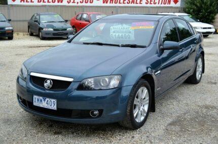 2009 Holden Calais VE Blue Automatic Sedan