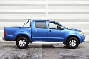 2010 Toyota Hilux KUN26R MY10 SR5 Blue 4 Speed Automatic Utility Seaford Frankston Area Preview