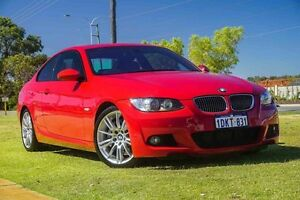 2008 BMW 335i E92 MY08 Steptronic Red 6 Speed Sports Automatic Coupe Wangara Wanneroo Area Preview