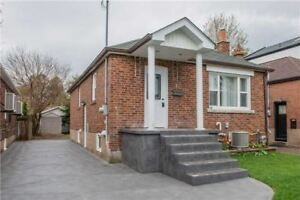 Location, Location, A Fully Detached Bungalow Offers 2+2Bdrs, Fi