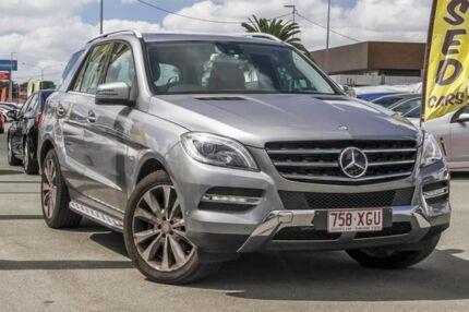 2012 Mercedes-Benz ML350 W166 BlueTEC 7G-Tronic + Tenorite Grey 7 Speed Sports Automatic Wagon Aspley Brisbane North East Preview