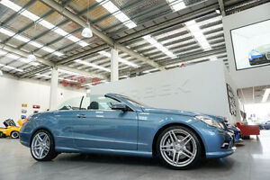 2010 Mercedes-Benz E500 207 Avantgarde Blue 7 Speed Automatic G-Tronic Cabriolet Port Melbourne Port Phillip Preview