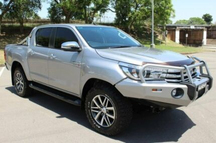 2016 Toyota Hilux GUN126R SR5 Double Cab Grey 6 Speed Sports Automatic Utility East Maitland Maitland Area Preview