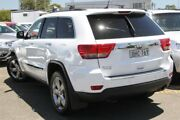 2012 Jeep Grand Cherokee WK MY2013 Limited White 5 Speed Sports Automatic Wagon Nundah Brisbane North East Preview