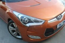 2013 Hyundai Veloster FS3 + Coupe D-CT Orange 6 Speed Sports Automatic Dual Clutch Hatchback Berwick Casey Area Preview