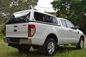 2014 Ford Ranger PX XLT Super Cab White 6 Speed Sports Automatic Utility St Marys Mitcham Area Preview