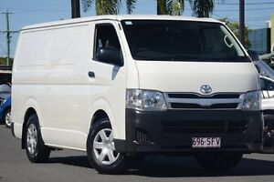 2012 Toyota Hiace KDH221R MY11 Super LWB White 5 Speed Manual Van Macgregor Brisbane South West Preview