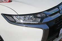 2015 Mitsubishi Outlander ZK MY16 LS 2WD White 6 Speed Constant Variable Wagon Cannington Canning Area Preview