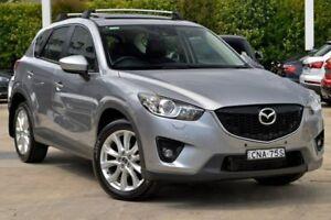 2013 Mazda CX-5 KE1021 MY13 Akera SKYACTIV-Drive AWD Silver 6 Speed Sports Automatic Wagon Gosford Gosford Area Preview