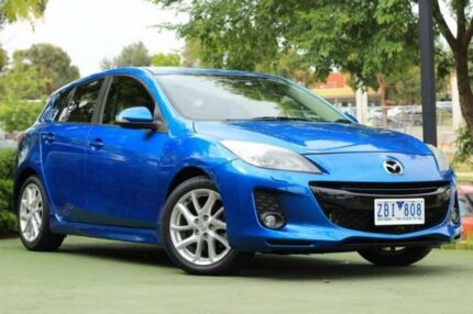 2012 Mazda 3 BL10L2 SP25 Activematic Blue 5 Speed Sports Automatic Hatchback