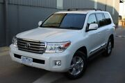 2014 Toyota Landcruiser VDJ200R MY13 Sahara White 6 Speed Sports Automatic Wagon Hoppers Crossing Wyndham Area Preview