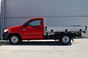 2013 Toyota Hilux TGN16R MY12 Workmate Red 5 Speed Manual South Maitland Maitland Area Preview