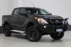 2012 Mazda BT-50 XT (4x4) Silver 6 Speed Manual Dual Cab Utility Bentley Canning Area Preview