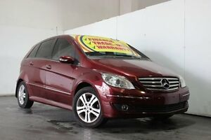 2005 Mercedes-Benz B200 245 Red Continuous Variable Hatchback Underwood Logan Area Preview