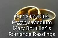 Physic Medium Mary Boutilier's Romance readings
