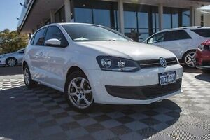 2012 Volkswagen Polo 6R MY12.5 77TSI DSG Comfortline White 7 Speed Sports Automatic Dual Clutch Alfred Cove Melville Area Preview