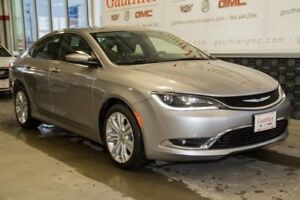 2015 Chrysler 200 Limited 4 Dr., Heated Seats