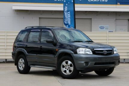2003 Mazda Tribute MY2003 Luxury Black 4 Speed Automatic Wagon Greenslopes Brisbane South West Preview