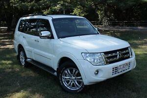 2014 Mitsubishi Pajero NW MY14 Exceed LWB (4x4) White 5 Speed Auto Sports Mode Wagon The Gardens Darwin City Preview
