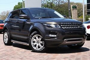 2013 Land Rover Range Rover Evoque L538 MY13 Si4 CommandShift Pure Grey 6 Speed Sports Automatic Osborne Park Stirling Area Preview