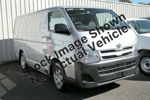 2013 Toyota HiAce KDH201R MY12 LWB Silver 4 Speed Automatic Van Noosaville Noosa Area Preview